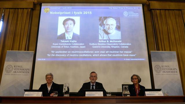 Nobelprijs voor de Natuurkunde naar Japanner en Canadees