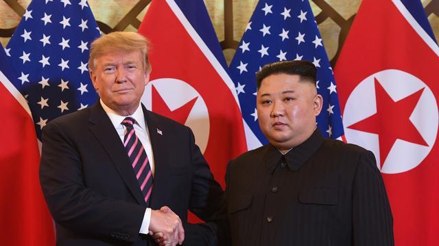 Trump: 'Geen haast om nucleair akkoord te sluiten met Noord-Korea'