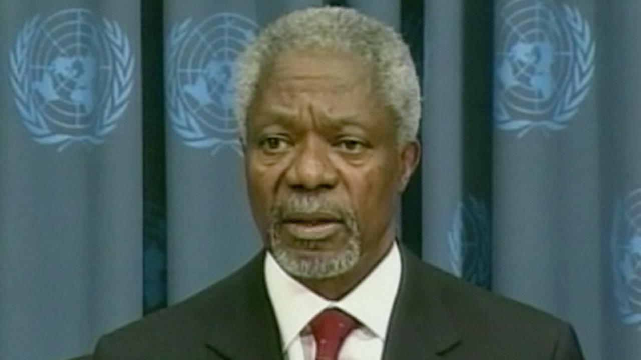 De carrière van Kofi Annan in beeld