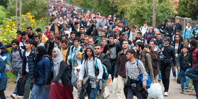 Vluchtelingenstroom naar Europa blijft hoog