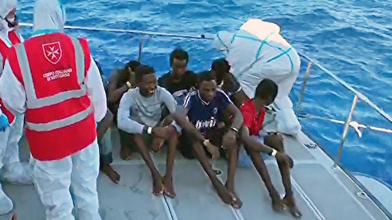 Minderjarige migranten mogen aan land in Italië