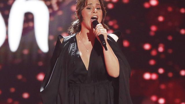 Trijntje Oosterhuis uitgeschakeld in halve finale Songfestival