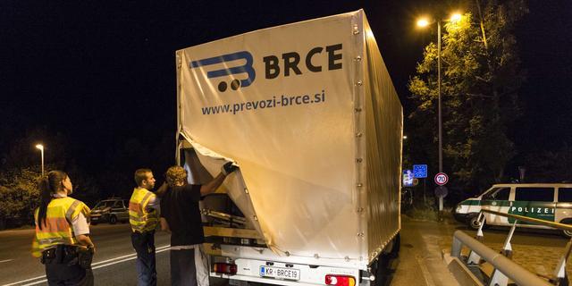 Duitsland begonnen met controle grens Oostenrijk