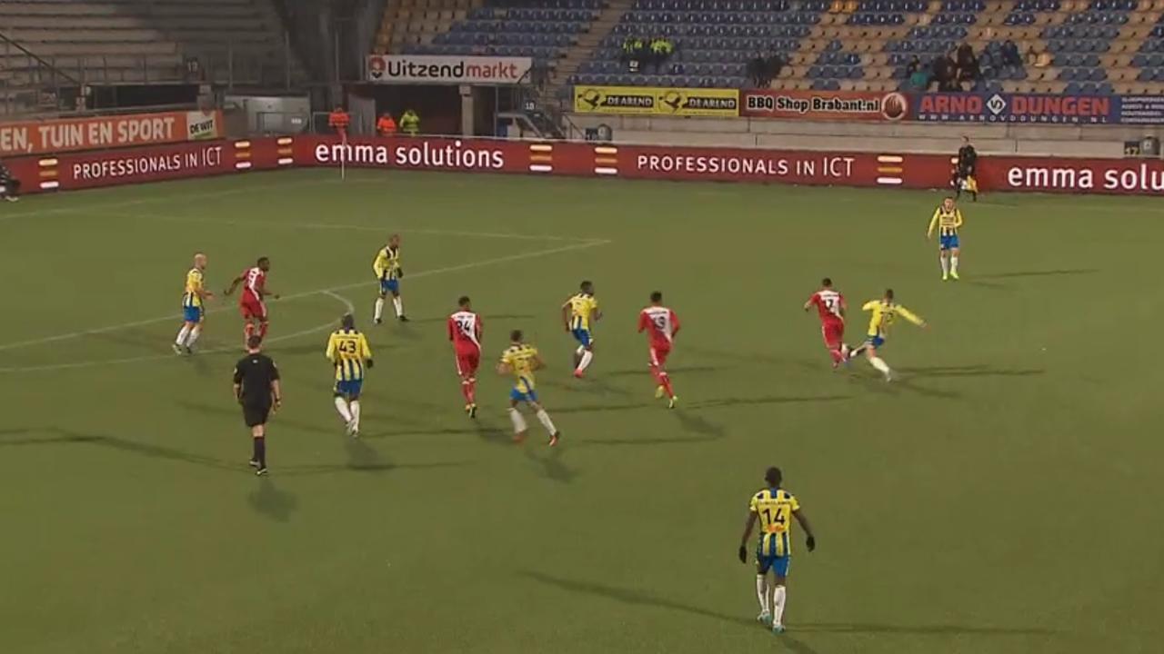 Samenvatting RKC Waalwijk - Jong FC Utrecht (1-2)