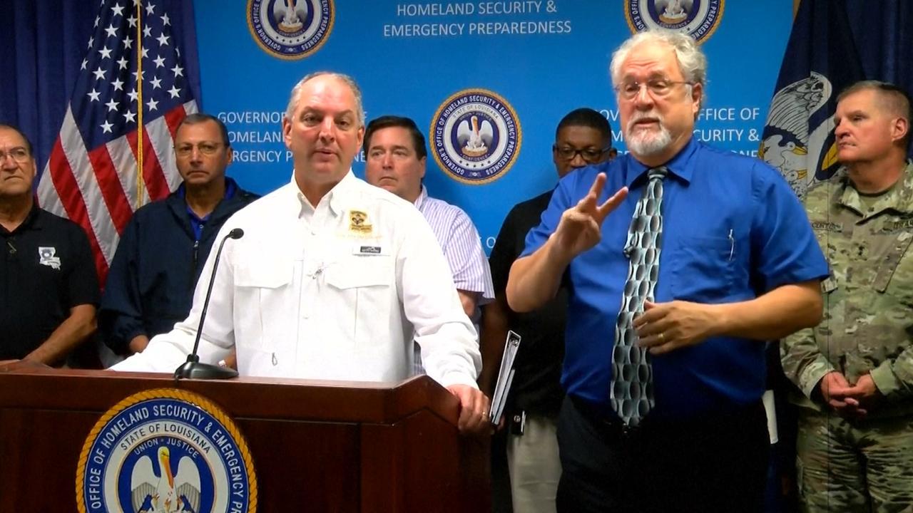 Gouverneur Louisiana: Nate komt aan land als orkaan van tweede categorie
