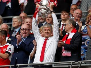 'Gunners' winnen op Wembley met 2-1 van landskampioen