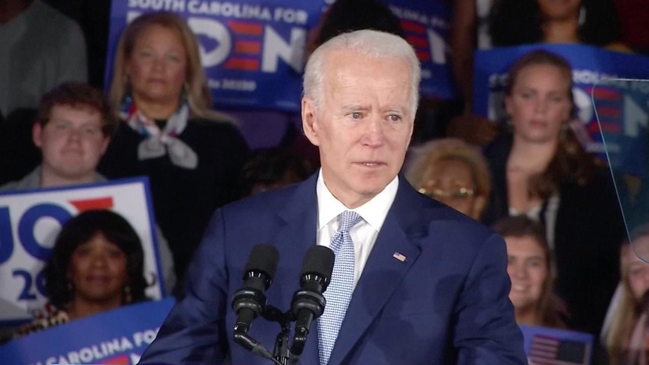 Joe Biden: 'Trumps dagen van verdeeldheid zaaien zijn geteld'