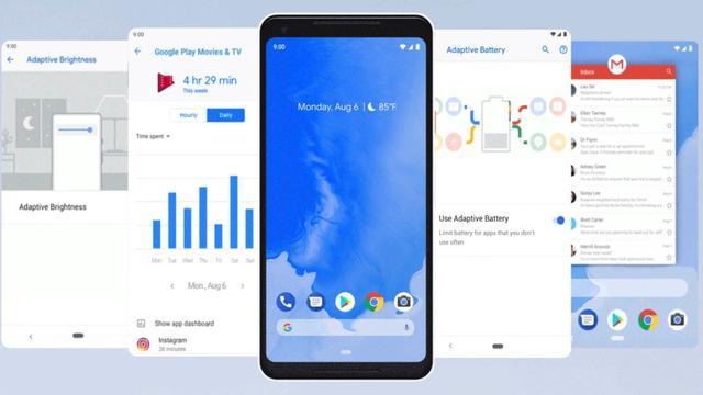 Google maakt Android Pie officieel beschikbaar