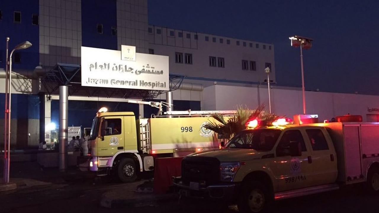 Veel doden bij ziekenhuisbrand Saudi-Arabië
