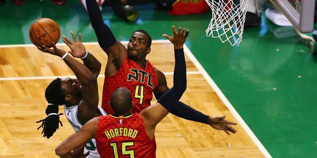 Atlanta Hawks zeker van tweede ronde in play-offs NBA