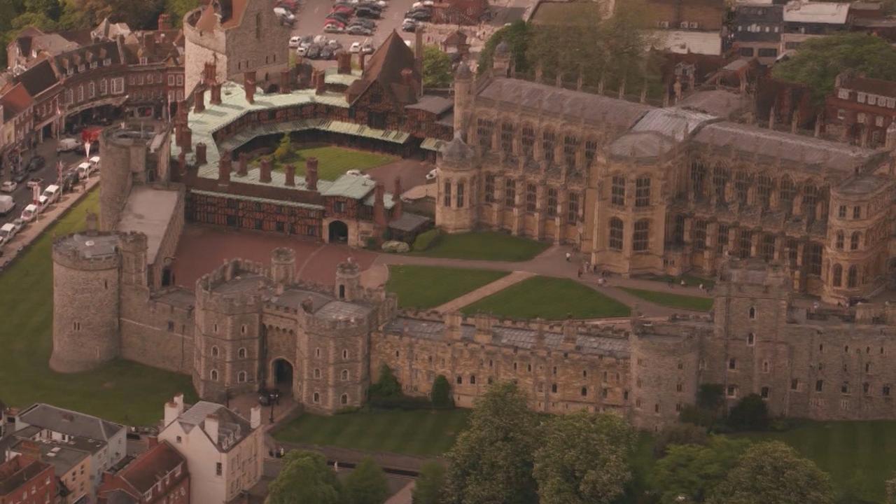 Dronebeelden Windsor Castle: Hier trouwen Harry en Meghan
