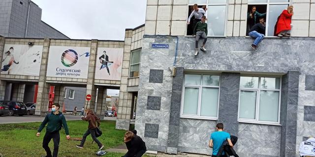 Acht doden en veertien gewonden bij schietpartij op Russische universiteit
