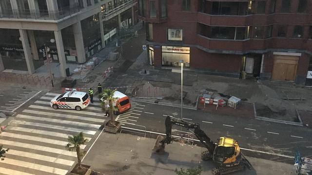 Politie houdt twee verdachten aan na ramkraak bij winkelcentrum Leidsche Rijn