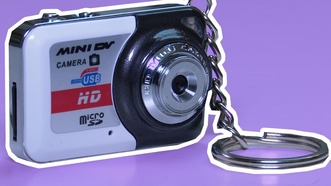 Prul of Praal? Minicamera voor aan je sleutelbos