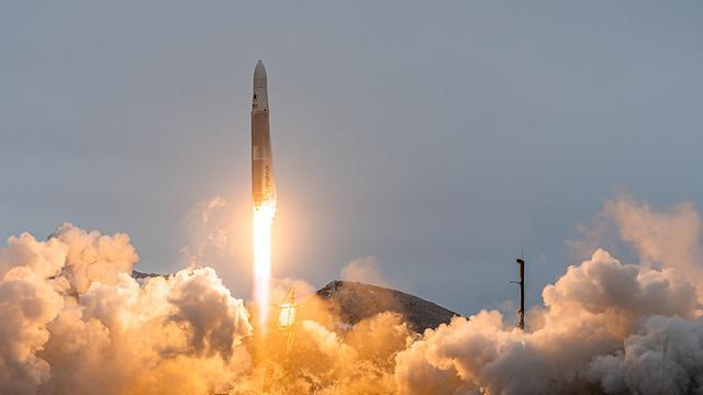 De lancering van de Rocket 3.2.