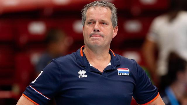 Vermeulen: 'Er was geen beginnen aan voor volleyballers tegen Rusland'