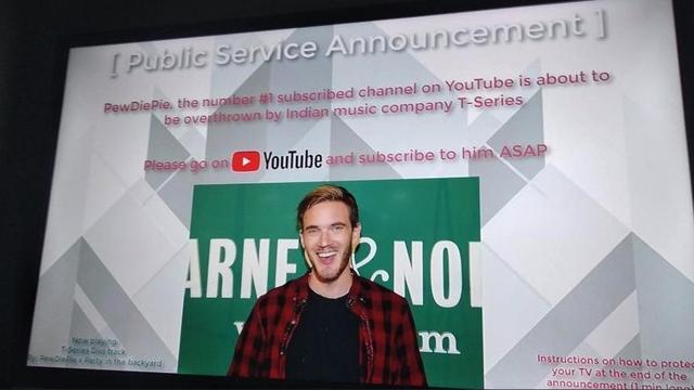Hackers spelen PewDiePie-propaganda af op andermans televisies