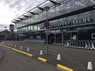 Vlucht kon door vertraging niet op toegestane tijdstip landen