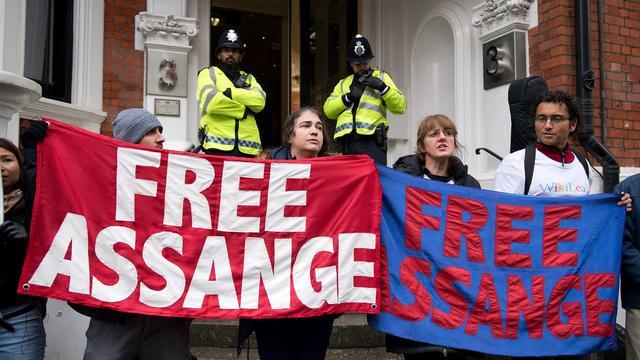 Verenigde Staten werken aan arrestatiebevel Julian Assange