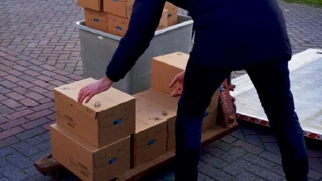 Grote partij gestolen babyvoeding gevonden in Waalwijk