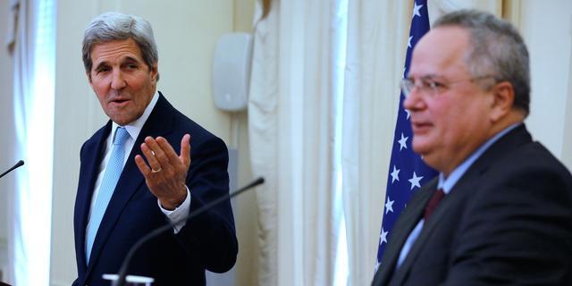 Amerikaanse minister wil Griekenland helpen