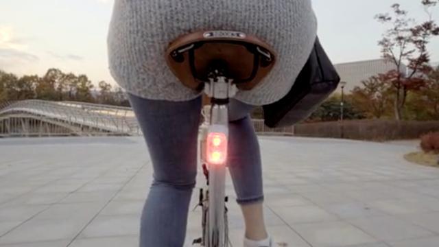 Slimme fietslamp gebruikt dronetechnologie