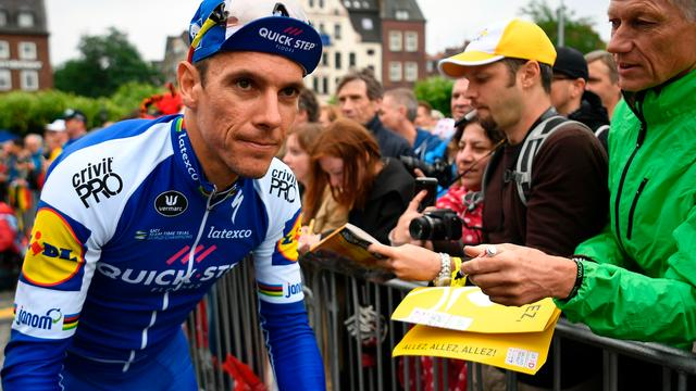 Philippe Gilbert verlaat Tour de France met buikgriep