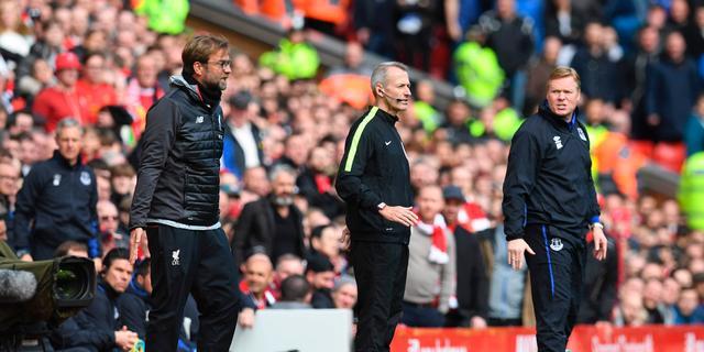 Koeman hekelt 'grote show' van Liverpool-trainer Klopp in derby