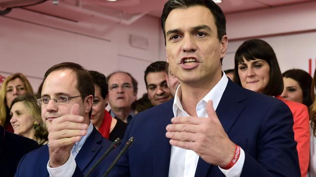 Spaans parlement stemt opnieuw over leider PSOE als premier