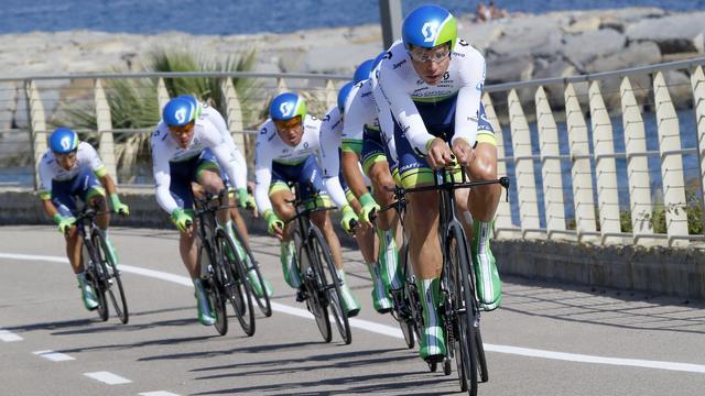 Weening wint met Orica-GreenEdge ploegentijdrit Giro d'Italia