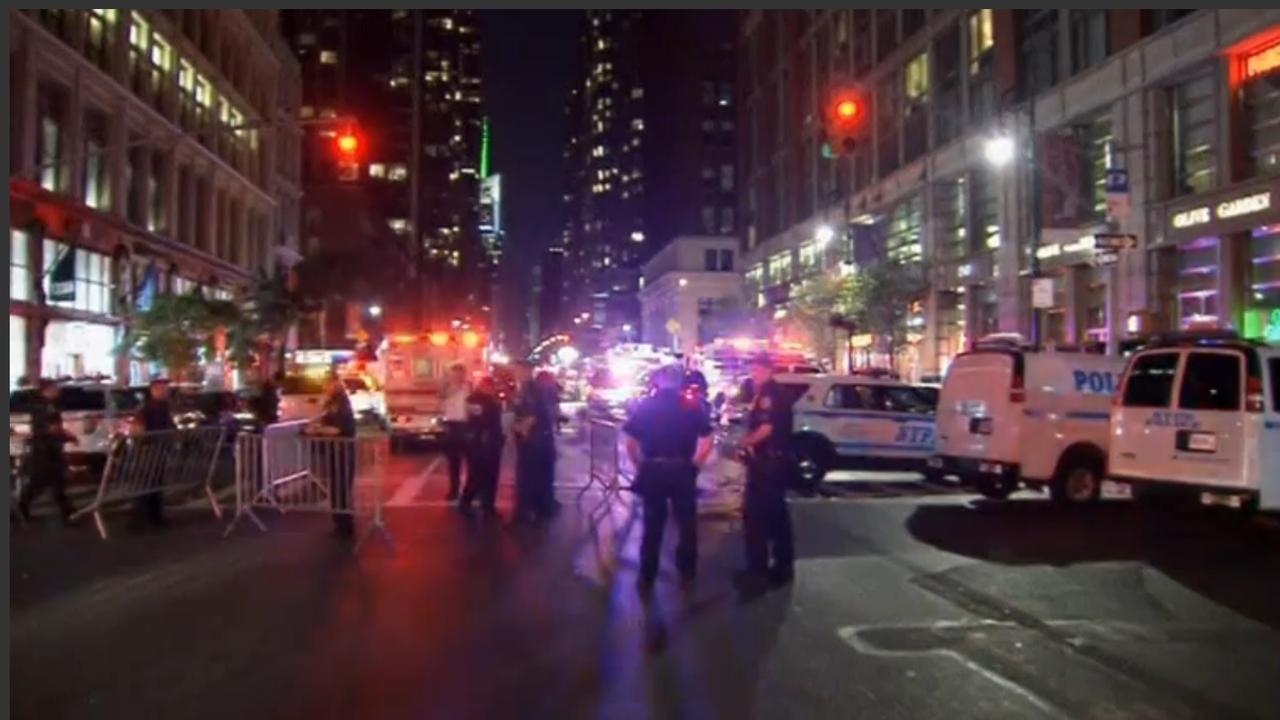 Veel gewonden door explosie in New York