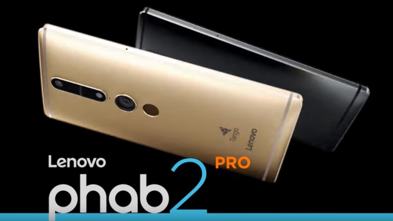 Phab 2 Pro eerste smartphone die werkt met Tango