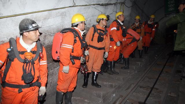 33 doden na gasexplosie in Chinese kolenmijn