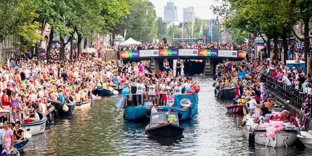 25e editie Pride Amsterdam gaat door, maar zonder botenparade