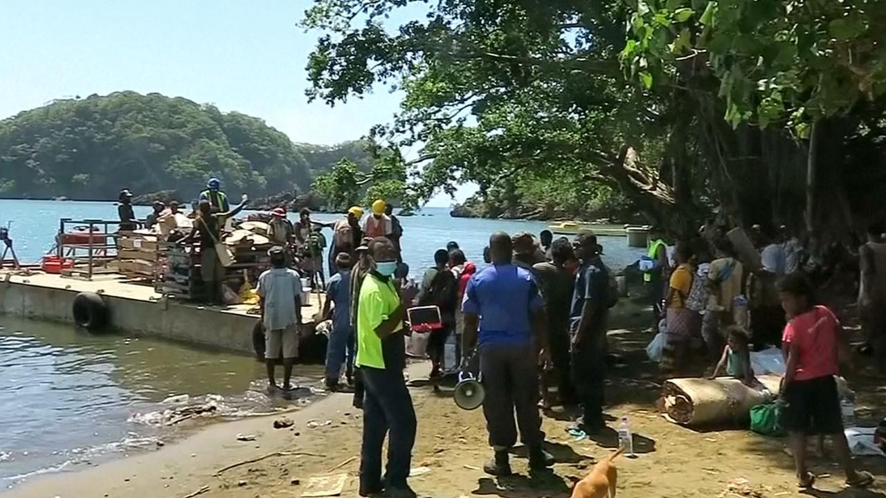 11.000 eilandbewoners Vanuatu vluchten voor dreigende vulkaanuitbarsting