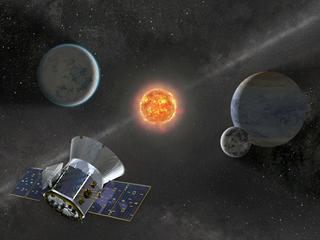 TESS gaat op zoek naar planeten die draaien om andere sterren dan de zon