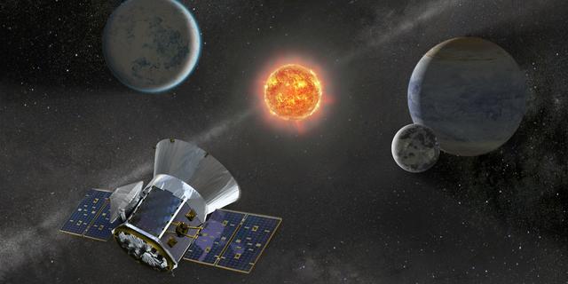 NASA-satelliet TESS ontdekt nieuwe koude exoplaneet