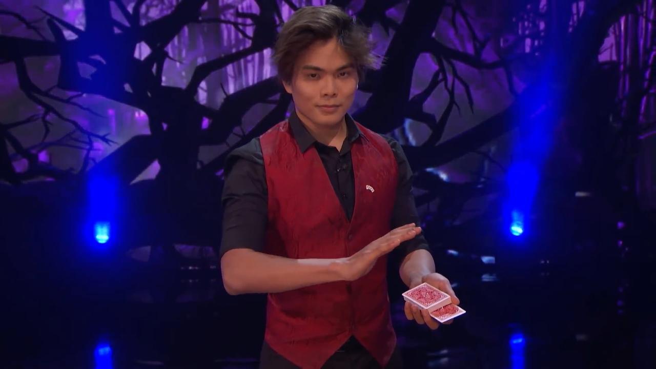 Concurrenten Glennis Grace: Goochelaar Shin Lim