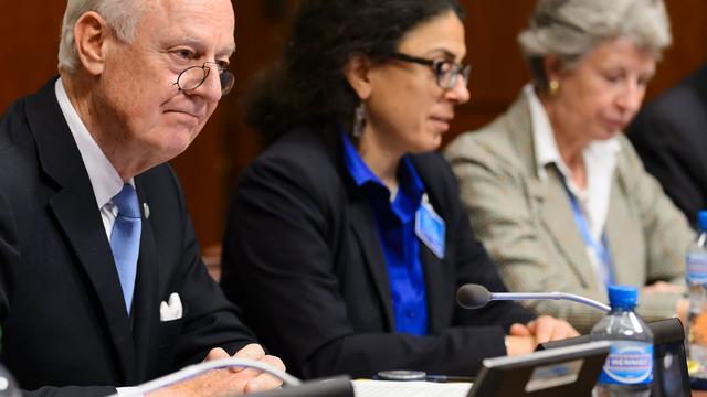Eerste gesprekken Syrische oppositie en VN-gezant positief verlopen