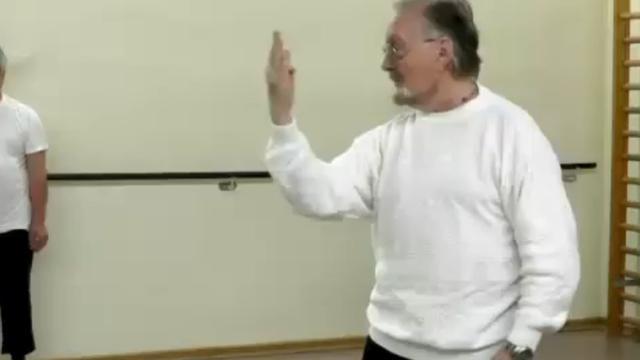 Duitse bejaarden krijgen karateles
