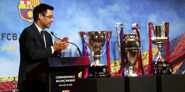 Barcelona ziet inkomsten na 'treble' stijgen naar 600 miljoen euro