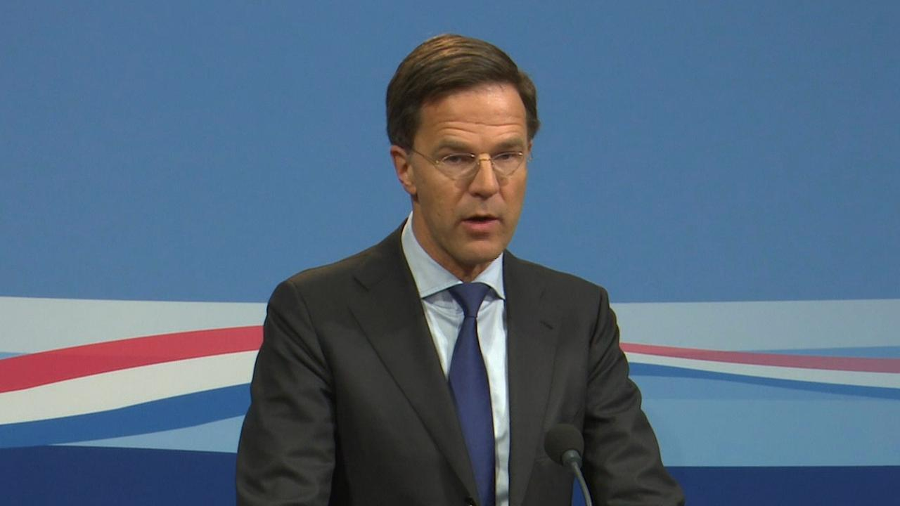 Rutte: 'Stapsgewijze beëindiging gaswinning Groningen'