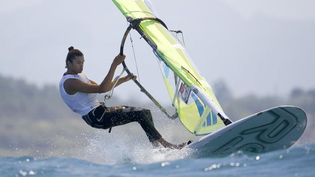 Windsurfer Kiran Badloe heeft Europese titel binnen handbereik