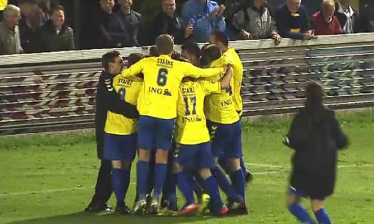 Samenvatting FC Lisse-HSV Hoek (2-2, FC Lisse wns)