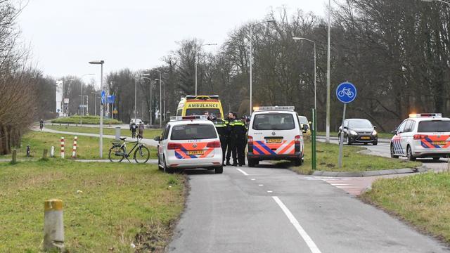 Botsing op fietspad bij Haagse Schouwweg