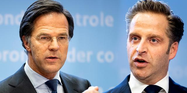 Volg hier de persconferentie van Rutte en De Jonge over de lockdown
