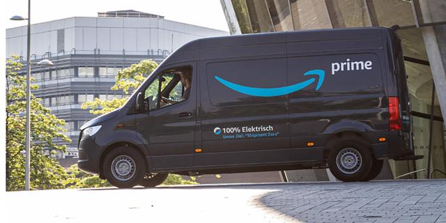 Amazon koopt 1.800 elektrische Mercedes-busjes voor Europese vloot
