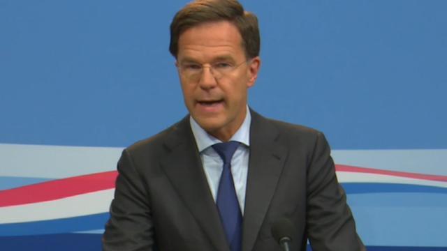 Rutte eist 'verantwoordelijkheid en medewerking' Rusland