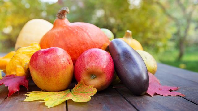 Deze groenten en fruitsoorten zijn lekker in november