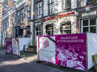 Grand café opent op dinsdag 22 mei